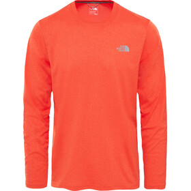 The North Face Reaxion Amp Crew Hardloopshirt korte mouwen Heren oranje